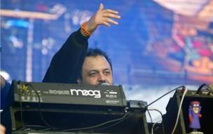 Marcelo Yuka recebeu convidadas no Palco Sunset (Foto: Alexandre Durão/G1)