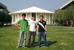 Alex Takeda, de 20 anos, cursa a graduação em física no Caltech (Foto: Arquivo pessoal)