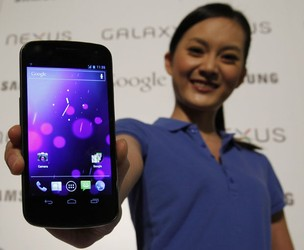 Galaxy Nexus (Foto: Bobby Yip/Reuters)