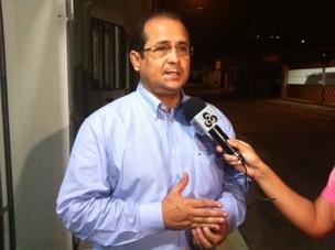 Superintendente Municipal de Transportes Urbanos (SMTU), Marcos Cavalcante (Foto: Anderson Vasconcelos/G1)