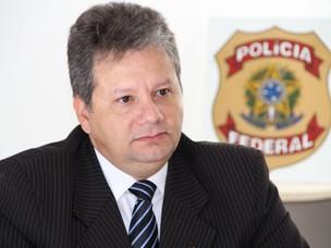 Superintendente da PF fala sobre interceptações telefônicas na PB (Foto: Francisco França/G1 PB)