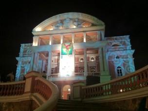 Teatro Amazonas terá Mostra Competitiva de Curta a partir das 16h (Foto: Marina Souza/ G1 AM)