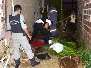 Adolescente é achado morto com crack na Paraíba (Foto: Walter Paparazzo/G1 PB)