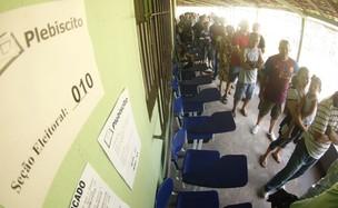 Plebiscito Pará 09 (Foto: Tarso Sarraf / O Liberal)