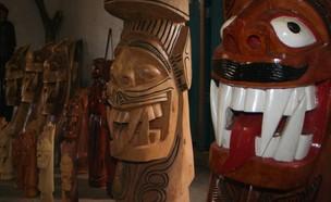 Carrancas são esculpidas pelos artesãos. (Foto: Prefeitura de Pirapora)