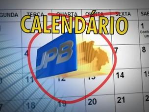 Calendário JPB (Foto: Ilustração)