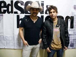 A dupla Edson e Hudson (à dir.); cantor está em turnê no Paraná (Foto: Paduardo/Futura Press)