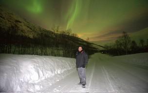 Aurora boreal (Foto: Divulgação/Daniel Japor)