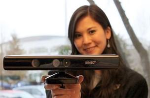 Kinect para o Windows chegou ao mercado norte-americano nesta quarta-feira (1º) (Foto: Divulgação/Microsoft)