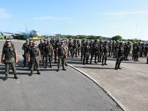 Salvador recebe 1,5 mil soldados ainda nesta sexta, diz Exército (Foto: Carla Ornelas/Secom)