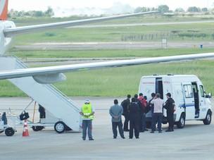 Acusado de chefiar facção já está na Paraíba e se prepara para depor (Foto: Walter Paparazzo/G1 PB)