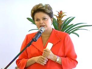 Dilma na Alemanha (Foto: globo news)