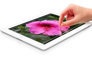 De acordo com a Apple, a tela do novo iPad tem o maior número de pixels em relação a outros dispositivos móveis (Foto: Divulgação)