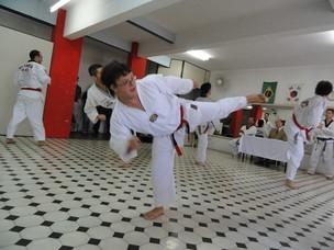 O estudante é faixa preta em Taekwondo (Foto: Arquivo Pessoal)