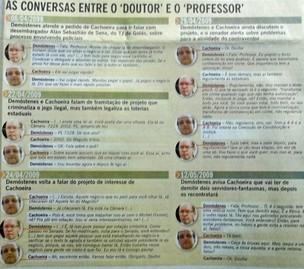 Conversas entre o Doutor e  o Professor (Foto: Reprodução)
