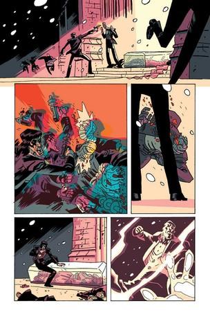 Cris faz a coloração da história em quadrinhos Casanova (Foto: Reprodução, Image Comics)
