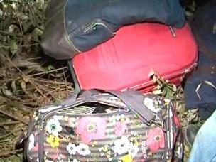 Objetos de jovens universitários Bahia (Foto: Reprodução/TV Santa Cruz)