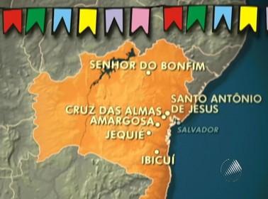 Maior festa regional do país acontece em diversas cidades baianas (Foto: Reprodução/TV Bahia)
