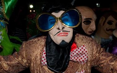 mascarado de maragojipe (Foto: Egi Santana/G1)