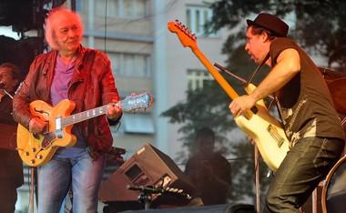 Erasmo Carlos, o 'Tremendão' fez muito barulho com arranjos cheios de guitarras pesadas (Foto: Flavio Moraes/G1)