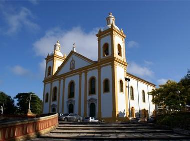 Igreja da Matriz AM (Foto: Tiago Melo / G1 AM)