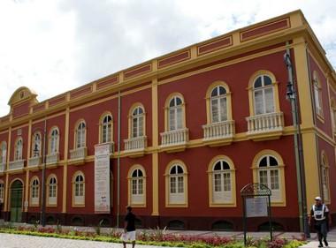 Palacete Provincial AM (Foto: Tiago Melo / G1 AM)