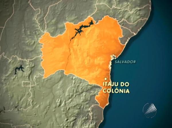 aviao que derrapou na pista na bahia (Foto: Reprodução/Tv Bahia)