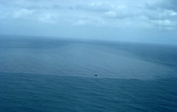 vazamento óleo (Foto: Brigada Militar/ Divulgação)