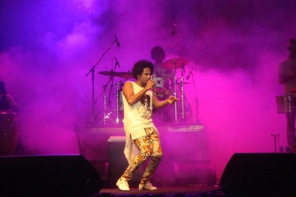 Magary Lord se apresentou na Concha Acústica do Festival de Verão 2012 (Foto: Jairo Gonçalves/ G1)