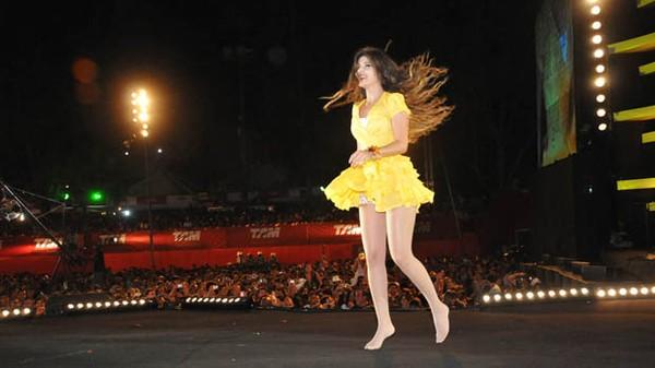 Paula Fernandes no Festival de Verão 2012 (Foto: Divulgação/Agência Edgar de Souza/Edgar de Souza)