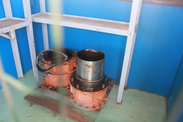 Válvula vazamento óleo (Foto: Kuriakin Toscan/Divulgação IBama )