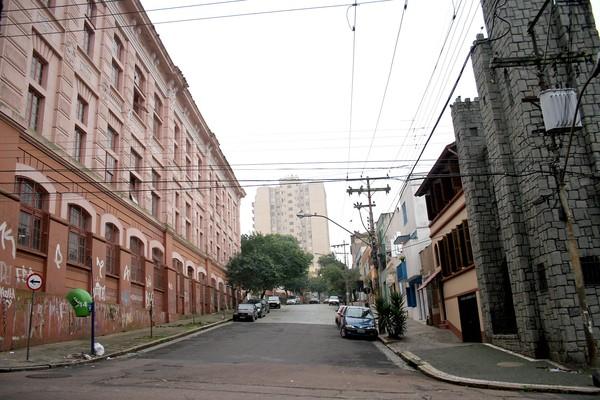 Rua Fernando Machado atualmente (Foto: Ivo Gonçalves/ PMPA)