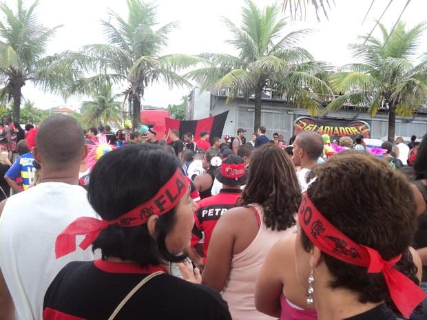 [Colaborativo](4759)Bloco Samba, amor e paixão-Ronaldinho Gaúcho-2 (Foto: Maria Edivania Vieira / VC no Carnaval)