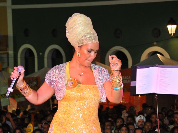 """Mariene de Castro afirma que seu carnaval """"foi prazeroso"""" (Foto: Eduardo Freire/G1)"""