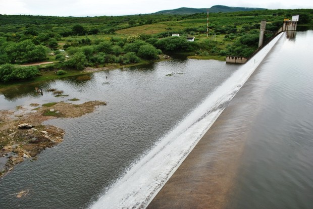 Barragem Pedro Moura Júnior em Belo Jardim (PE) (Foto: Divulgação/Prefeitura Belo Jardim)