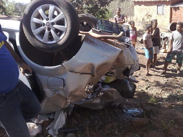 [Colaborativo](25581)acidente com funcionaria de acm neto-3 (Foto: Rogerio Morais Silva / VC no G1)