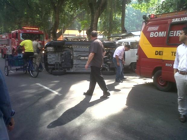 [Colaborativo](28557)Manhã tensa em Icaraí, Niterói/RJ.-0 (Foto: Matheus Ortega Pietrobon / VC no G1)