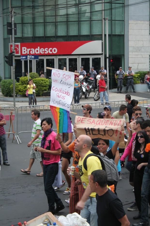 [Colaborativo](32168)11º Parada do orgulho gay de Campinas-2 (Foto: Andressa Rafaela Santos / VC no G1)