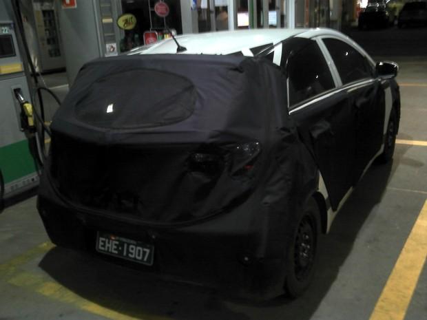 [Colaborativo](45283)SEGREDO - Novo hatch popular da Hyundai-1 (Foto: Felipe Pedroso dos Santos / VC no G1)