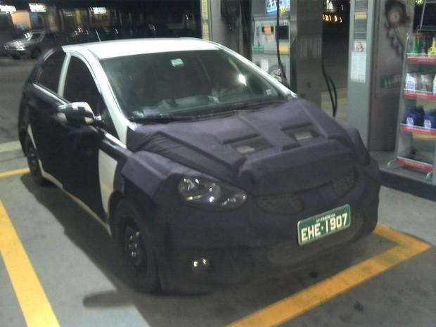 [Colaborativo](45283)SEGREDO - Novo hatch popular da Hyundai-0 (Foto: Felipe Pedroso dos Santos / VC no G1)