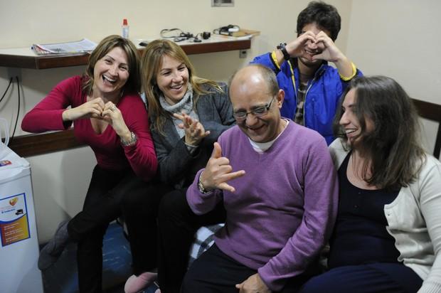 Rosmari da Silva Noronha, 49, que decidiu doar o órgão ao ex-marido, Osório Noronha, 53, de quem é separada há 16 anos (Foto: Leo Munhoz/Agência RBS)