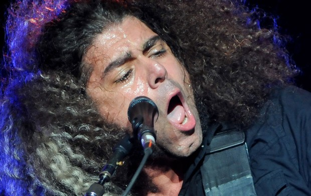 Vocalista e guitarrista do Coheed, Claudio Sanchez (Foto: Flavio Moraes/G1)