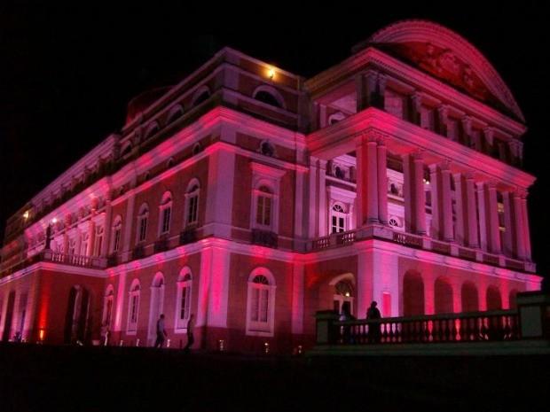 Teatro Amazonas, prédio histórico no Centro de Manaus (Foto: Divulgação)