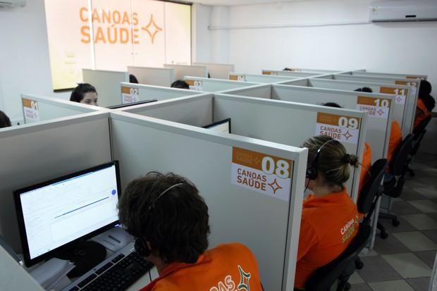 Média de consultas subiu bastante depois que o sistema de teleagendamento passou a ser adotado em Canoas (Foto: Gilson Filho/Prefeitura de Canoas)