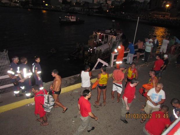 Caminhonete desgovernada atropelou pessoas na ponte do Rio Tramandaí (Foto: Divulgação/Polícia Civil)