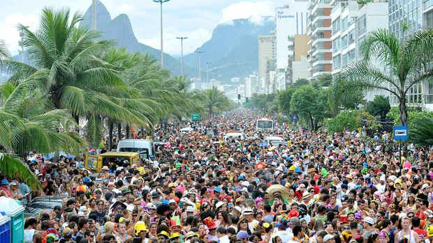 Veja fotos do bloco 'Simpatia É Quase Amor' do Rio de Janeiro (Foto: Divulgação/RioTur)