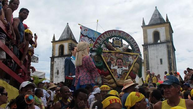 Bacalhau do Batata faz folia na Quarta-Feira de Cinzas (Claudia Silveira/G1)