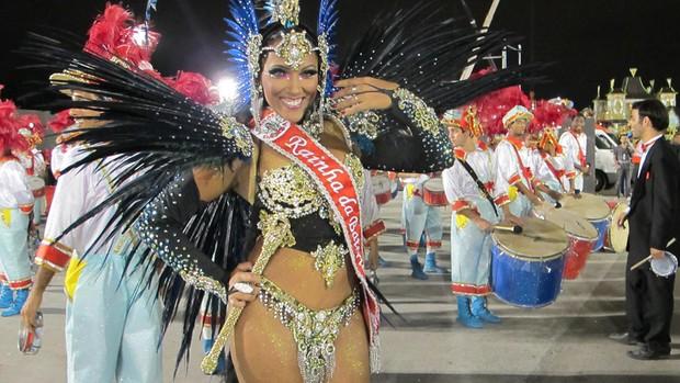 Veja imagens do desfile das campeãs de São Paulo (Roney Domingos/G1)
