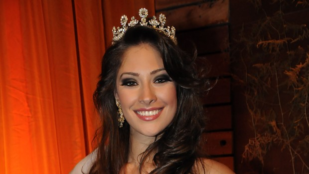 Raiza Vidal, 22 anos, de Ivinhema, é eleita Miss Mato Grosso do Sul (Foto: Divulgação/organização)