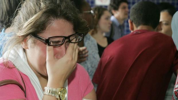 enem atrasados são paulo chorando (Foto: Felipe Rau/AE)